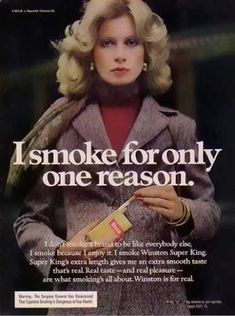 The Bad Ass Women Of 1970s Winston Cigarette Ads
