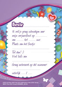 Lego friends birthday invitation printable file ekwebdesigns get how to fill out a birthday party invitations download this invitation for free at https stopboris Gallery