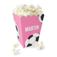 Spill Fotball / Håndball - Lysrosa Popcornbeger Popcorn Maker, Kitchen Appliances, Party, Caramel, Cough Medicine, Creative, Diy Kitchen Appliances, Home Appliances, Fiesta Party