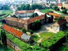 Oradea Fortress, Oradea, Romania- the ruins are so fun to climb!