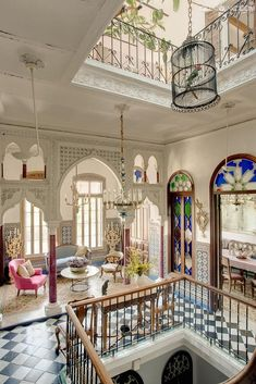 exotic, light and colorful #MoroccanDecor