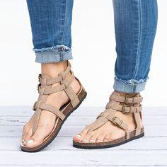 Gladiator Thong Sandals   3 Colors   Jane