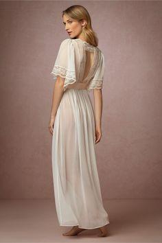 BHLDN Starlet Robe in  Bride Bridal Lingerie at BHLDN