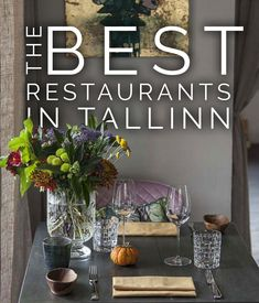 Tallinn is an amazing restaurant city! The prices are reasonable and quality so high. I've live part of the year in Tallinn, so I've collected all my favorite places in one post. My criteria is quality, good prices, friendly service, beautiful decor. Fixed Menu, Places Open, Vegan V, City Restaurants, Food Concept, Tasting Menu, I Am Awesome, Amazing, Good Music
