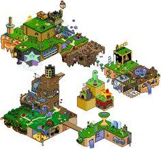 pixel Mario 2