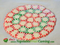 platter made out of hard candy | candy bowl, you can rest the parchment paper with the melted candy ...