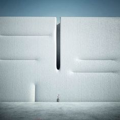 The beautifulWas ist Metaphysik? series created by Italian photographer and designerMichele Durazzi, who imagines some minimalist and surrealist architectur