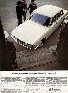 Triumph 2500 PI Triumph 2000, Triumph Motor, Triumph Car, Car Advertising, Ads, Ford Capri, Love Car, Commercial Vehicle, Fast Cars