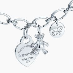 Charmed, darling. Give her the gift of meaningful memories with a sterling silver charm bracelet you can add to year after year.