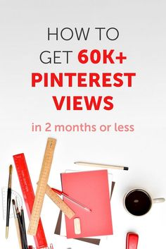 Want to get more views on Pinterest? Savvy entrepreneurs know that growing your Pinterest following is one of the top ways to get blog traffic in 2017. In this case study, we'll share how one blogger got popular on Pinterest and grew her monthly views to 60K in just 2 months. via @maryefernandez