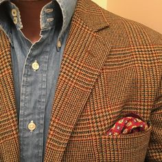 """the-popinjay: """"Chambray and tweed is the uniform. """""""