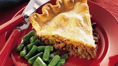 Who wants a bun when you can have a cheeseburger baked in a flaky pie crust?