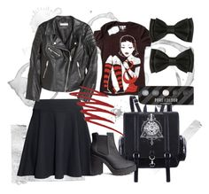 Back to school Jawbreaking sweet by venusmantrap on Polyvore featuring H&M and NARS Cosmetics
