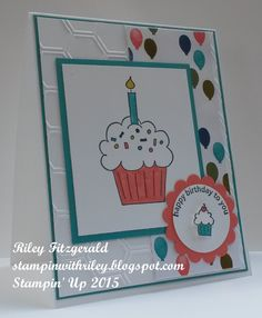 Happy Birthday to You by dancerriley - Cards and Paper Crafts at Splitcoaststampers Birthday Thank You Cards, Birthday Cake Card, Kids Birthday Cards, Homemade Greeting Cards, Hand Made Greeting Cards, Kids Cards, Craft Cards, Embossed Cards, Card Sketches