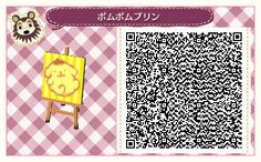 Bidoof Crossing Bidoof Crossing - takoyaki-crossing: Official Sanrio QR Codes by. Animal Crossing 3ds, Nintendo Switch Animal Crossing, Animal Crossing Qr Codes Clothes, Animal Crossing Pocket Camp, Acnl Standee Qr Codes, Acnl Paintings, Acnl Paths, Flag Code, Motif Acnl