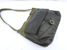 Recycled Leather Jacket Purse