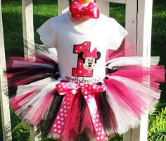 Items similar to Minnie Mouse Birthday Number Tutu Outfit with Hot Pink and Zebra Tutu on Etsy Minnie Mouse Birthday Theme, Mickey Mouse, Tutu Outfits, Birthday Numbers, Birthday Parties, Girly, Trending Outfits, Unique Jewelry, Handmade Gifts