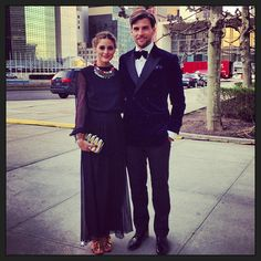 THE OLIVIA PALERMO LOOKBOOK: Olivia Palermo : Ready for Pikolinos Gala in front of the UN in New York.