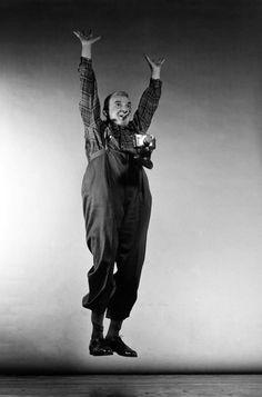 Weegee jump, Philippe Halsman