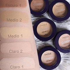 Corretivos cremosos DAZZLE!! Conheça toda a linha de maquiagem em nosso site. #hinode #HND #makeup #beleza #DAZZLE #ProdutosNacionais