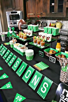 Football Party Ideas – A to Zebra Celebrations