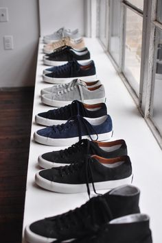 classy casual kicks from Common Projects.