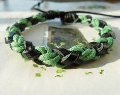 tiny braid bracelet