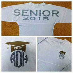 YOU PICK your Colors Senior Class of 2015 by EmbroiderExpressions