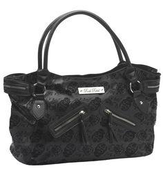 Rock Rebel // Rock Rebel Embossed Sugar Skull Handbag tragicbeautiful.com