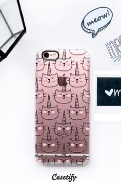 Click through to see more iPhone 6 phone case designs by Happy Cat Prints. >>> https://www.casetify.com/happycatprints/collection | @Casetify