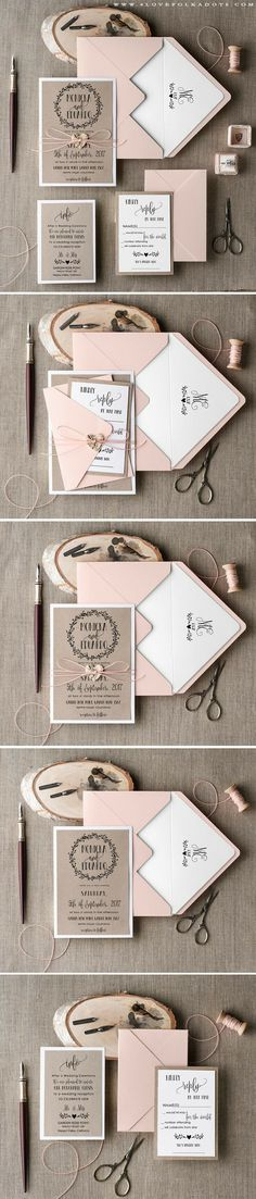 Wedding Stationary | Invitations | Inspiration