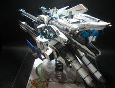 RG 1/144 Hazel + AmaryllisBelladonna customized build - Gundam Kits Collection News and Reviews