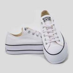 scarpe donna converse suola alta
