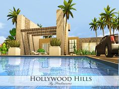 The Sims Resource: Hollywood Hills  by Pralinesims • Sims 4 Downloads