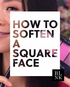 How to Soften a Square Face with Blush - make_up_pintennium Beauty Tips For Skin, Natural Beauty Tips, Beauty Secrets, Skin Care Tips, Makeup Videos, Makeup Tips, Makeup Lessons, Makeup Hacks, Lip Makeup