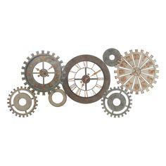 Horloges métal Mécanisme / Rouage steampunk