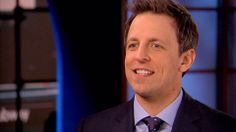 Seth Meyers expects 'white-hot panic' on 'Late Night' debut