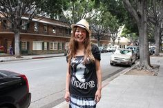 Julia customized Doors Tshirts Jim Morrison by OneLovePasadena