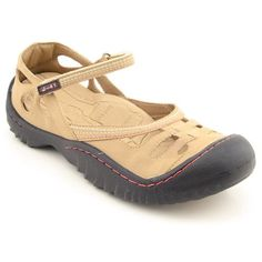 $79.00 J-41 Galaxy Womens SZ 6 Beige Nude Athletic Sneakers Shoes - The style and comfort of these J-41 Galaxy shoes are out of this world! These shoes feature a suede upper with stitch detailing, an adjustable mary jane strap, and toe and heel bumpers for protection. A contoured Memory Foam footbed provides superior comfort and support. The outsole is Jeep-engineered for high performance on a var ...