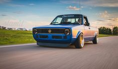 Built To Drive: The Dub Dynasty 1981 VW Caddy – Slam'd Mag Mini Trucks, 4x4 Trucks, Volkswagen Golf Mk1, Volkswagen Beetles, Caddy Daddy, Vw Caddy 1, Vw Pickup, Luxury Rv, Engin