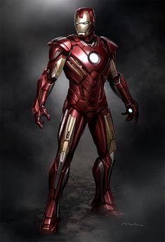 Iron Man 3 concept art by Andy Park ↩☾それはすぐに私は行くべきである。 ∑(O_O;) ☕ upload is LG…