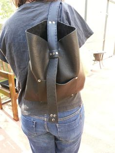 One Shoulder Backpack  Ready to Ship by BoondockStudios on Etsy, $140.00