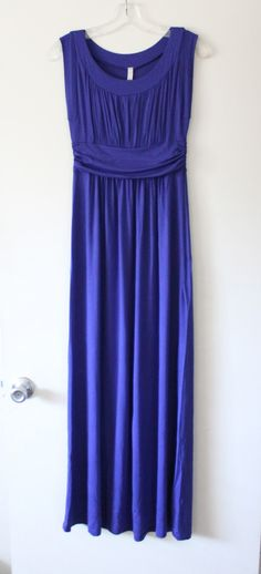 Gilli Astra Sleeveless Maxi Dress in purple // Stitch Fix Review April 2015 // Conservative and comfy