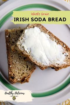 A cross between traditional Irish soda bread and classic brown bread, this healthy and delicious recipe made with whole wheat flour and steel cut oats is a great addition to you St. Patrick's Day menu! Traditional Irish Soda Bread, Brown Bread, Steel Cut Oats, Whole Wheat Flour, Quick Bread, Original Recipe, Mashed Potatoes, Banana Bread, Food To Make