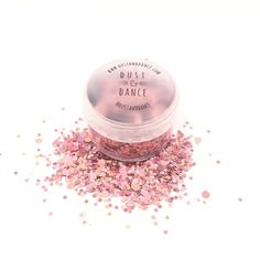 Dust and Dance Pink Pandora - Chunky Face Eye Nails Hair Christmas Festival Party Makeup Glitter Pot