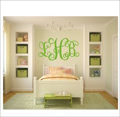 Hey, I found this really awesome Etsy listing at https://www.etsy.com/listing/175189060/vine-monogram-decal-vinyl-wall-decal