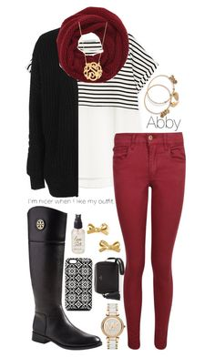 """""""Set for Abby"""" by lbkatie17 on Polyvore featuring Zara, Topshop, Wyatt, Tory Burch, BaubleBar, Michael Kors, Vera Bradley, Kate Spade, Olivine and Alex and Ani"""