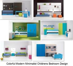 sweet white-pink-orange kids bedroom design and coloring ideas