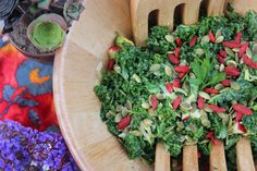 SEXY SUPERFOOD SALAD by RADIANTLY RAW