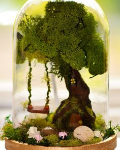 Miniatures Craft Trends Ideas   Martha Stewart Living — People want crafts that are self-contained and clutter-free.